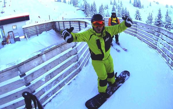 Snowboarding course for beginners