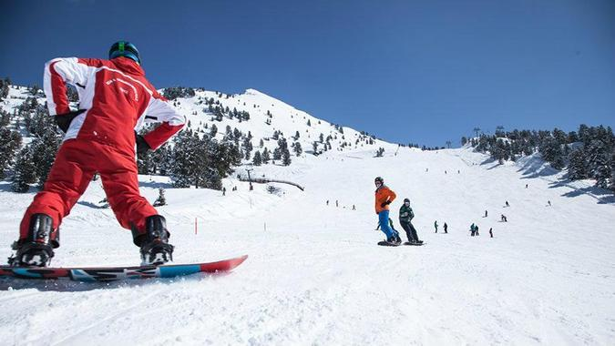 Snowboarding Lessons - Beginners