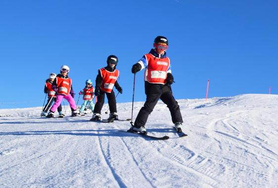 Skiing Lessons for Kids (4-17 years) - Advanced